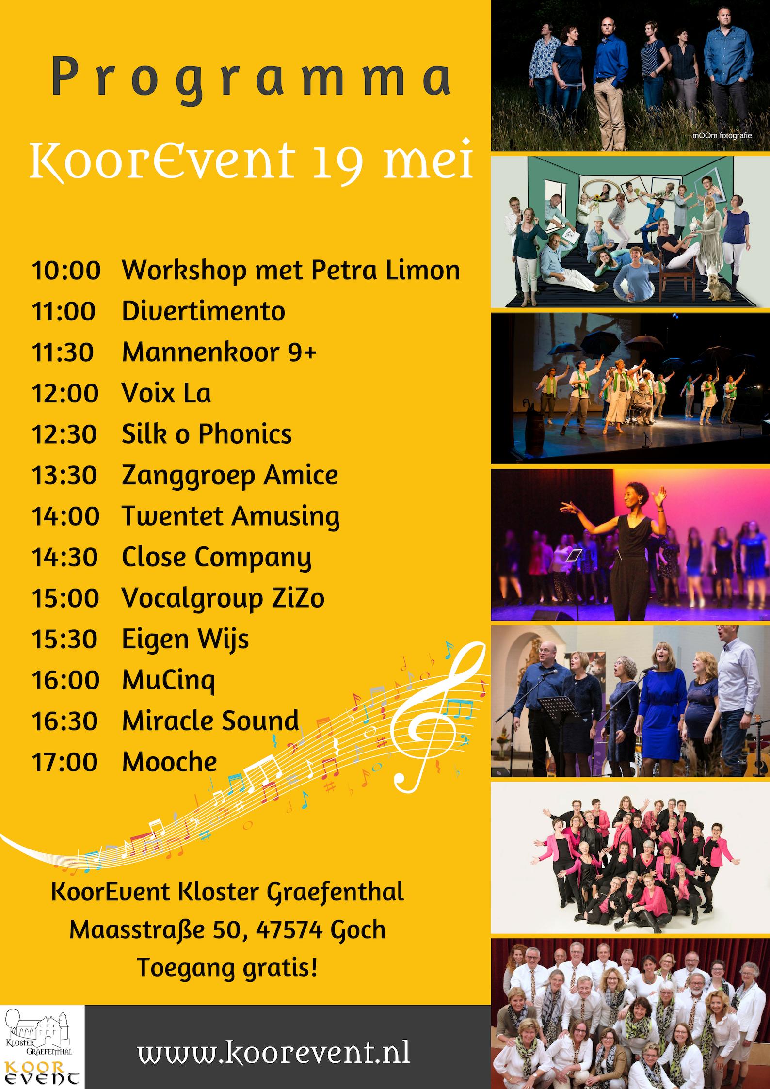 Koorevent Klooster Graefenthal D Mooche Vocal Group Mooche